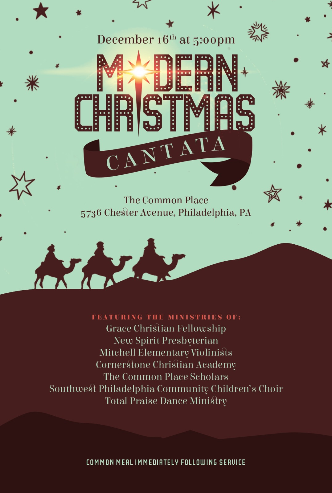 New Christmas Cantatas 2020 The Common Place Christmas Cantata – 2020