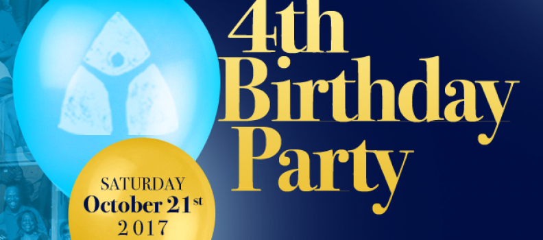 TCP is Celebrating it's 4th Birthday!